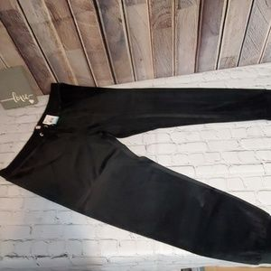 BNWT JUICY COUTURE BLACK VELOUR JOGGERS SIZE XL